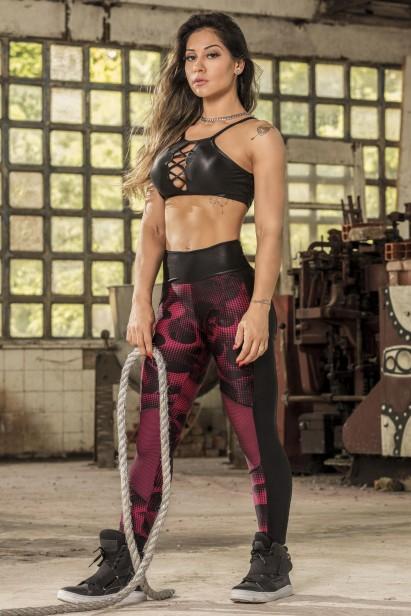 91f4a0344 Legging Shadow em Suplex Lycra Xtra Life - Donna Carioca - Moda ...
