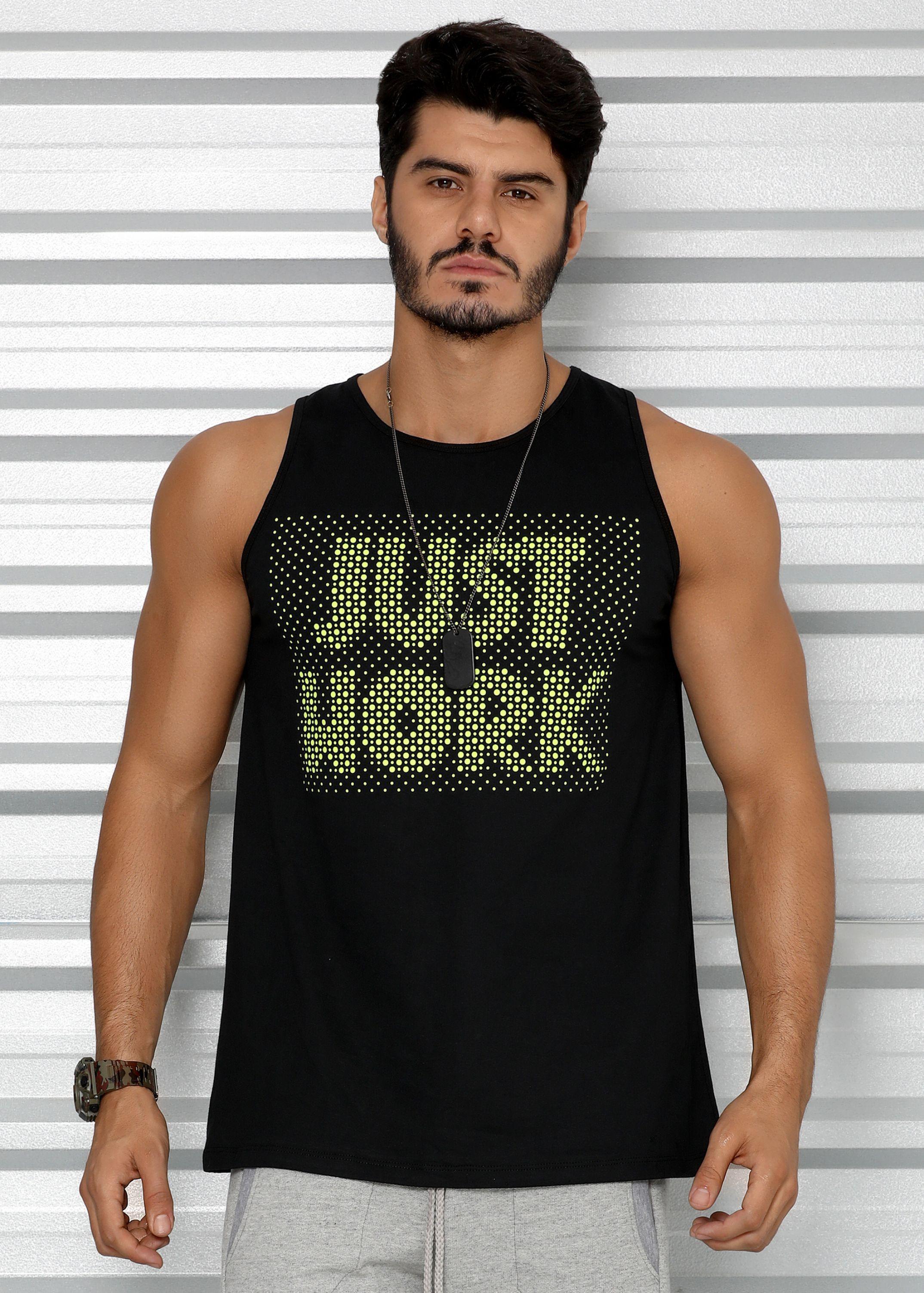 aefec578c4 Regata Masculina Tradicional Just Work - Donna Carioca - Moda fitness com  preço de fábrica