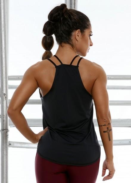Regata Rajada com Tela Lateral - Donna Carioca - Moda fitness com ... 2235c2d0197