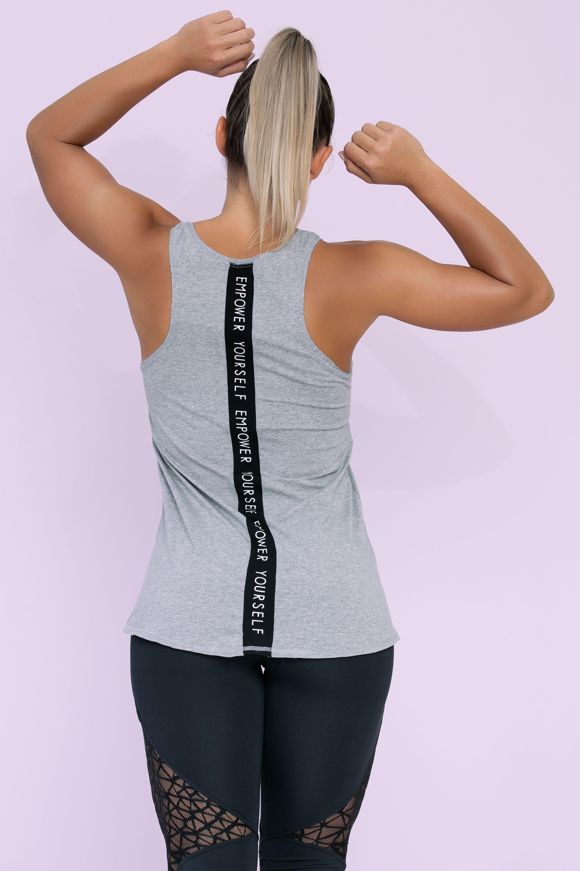 Regata Mullet com Faixa nas Costas - Donna Carioca - Moda fitness com preço  de fábrica b5433eecbfb