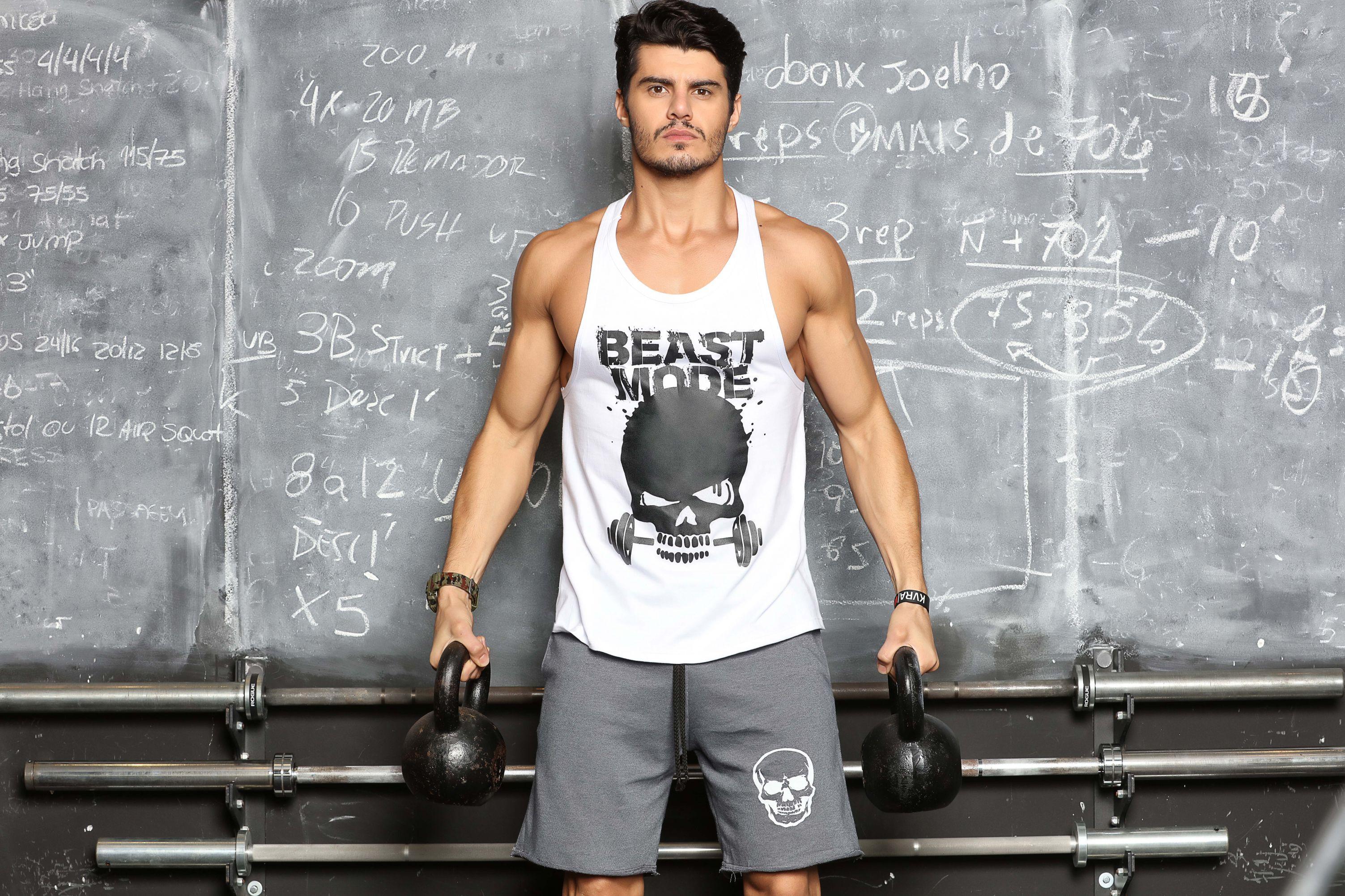 Regata Masculina Tradicional Beast Mode - Donna Carioca - Moda fitness com  preço de fábrica a816a39052c